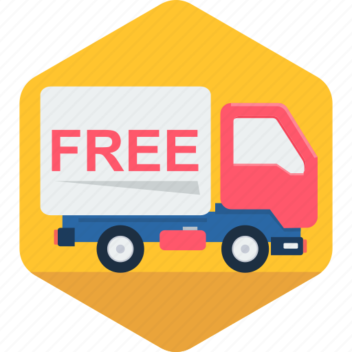 delivery, free, shipping, shopping, transport, transportation, vehicle icon