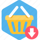 add, basket, cart, commerce, ecommerce, plus, shopping icon
