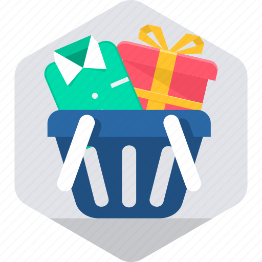 bought, buy, cart, ecommerce, items, shipping, shopping icon