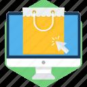 click, desktop, monitor, online, sale, screen