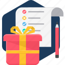 birthday, celebration, decoration, gift, items, present icon