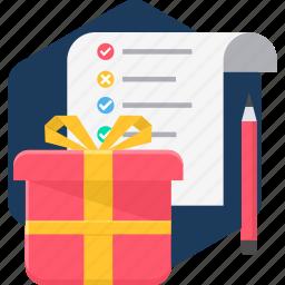 birthday, celebration, decoration, gift, items, present icon