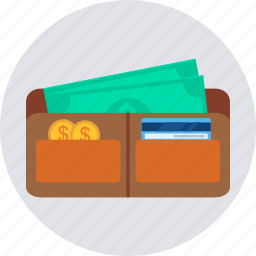 cash, earnings, money, profit, save, saving, wallet icon