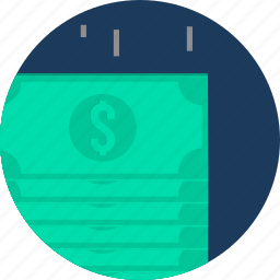 business, cash, currency, finance, money, paper, paper money icon