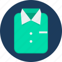 business, clothes, clothing, fashion, formal, man, shirt icon