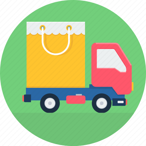 courier, delivery, free, logistics, package, transportation, truck icon