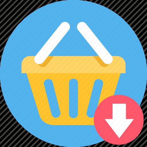 basket, buy, cart, commerce, ecommerce, shipping, shopping icon