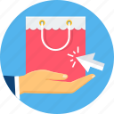 buy, click, ecommerce, online, purchase, sale, shopping icon