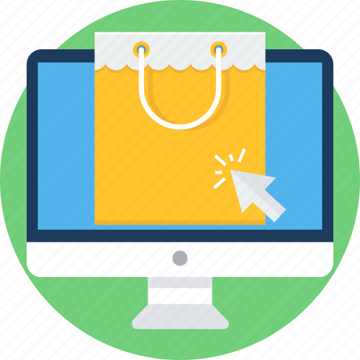 Buy, online, shop, commerce, shopping, sale, ecommerce icon