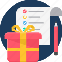 ecommerce, gift, item, items, present, shopping icon