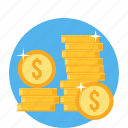 banking, cash, currency, dollar, financial, investment, money icon