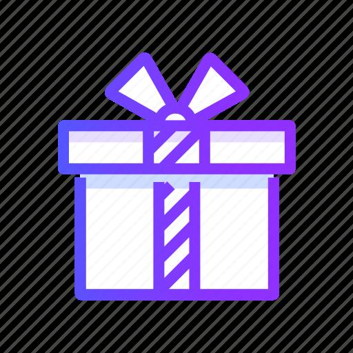 birthday, christmas, decoration, giftbox, present icon