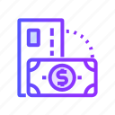 currency, finance, marketing, option, payment icon