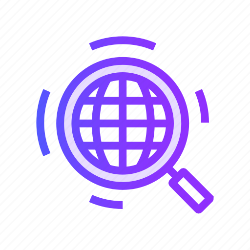 magnifying, product, search, seo, view icon