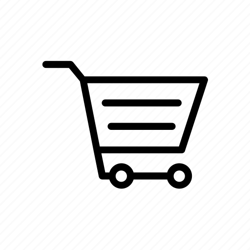 e-commerce, shopping, trolley icon