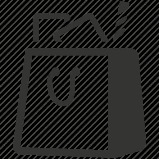bag, bags, buy, paper bag, purchase, purse, shop, shop bag, shop bags, shopper, shopping bag icon