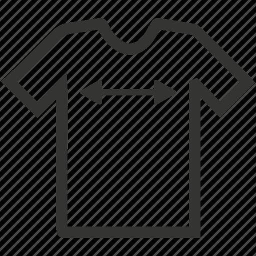 cutting, measurement, shirt, shirt sizing, tailor made, tshirt icon