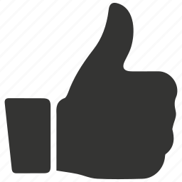 approve, good, like, liked, positive, thumbs up icon