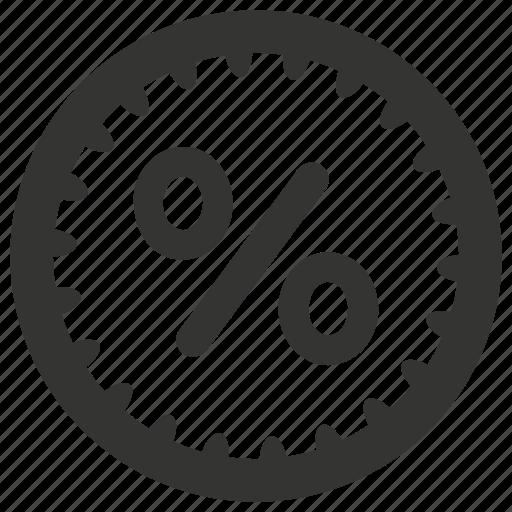 badge, discount, percent, percentage, put off, sale icon