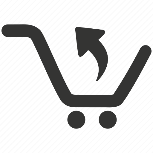 arrow, cart, checkout, delete, ecommerce, eject, online shop, out, reject, remove, remove from cart, remove item, return, shop, shopping, shopping cart icon