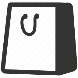 bag, commerce, purchase, shopping, shopping bag, store icon
