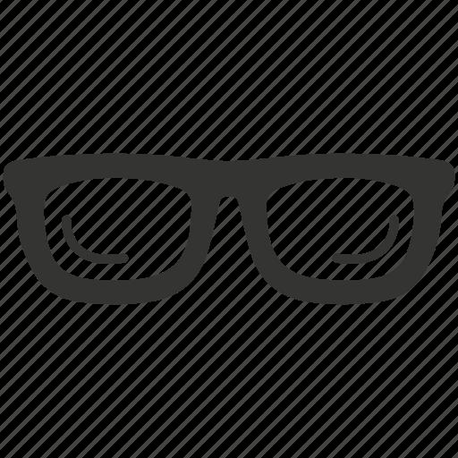 eye glasses, eyeglasses, glasses, spectacles, vision icon
