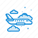 airplane, delivery, fast, transport, transportation icon