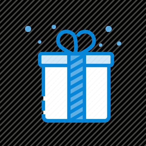 bow, box, gift, ribbon, suprise icon