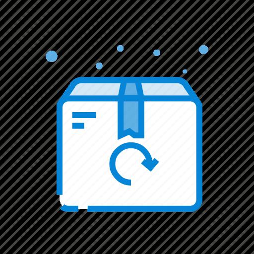 box, returns, shipping, shopping icon