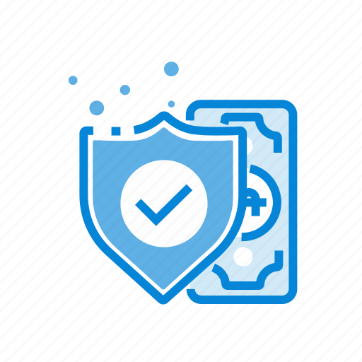 money, payment, safe, secure icon