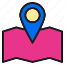 browsing, electronic, map, payment, position, store, technology