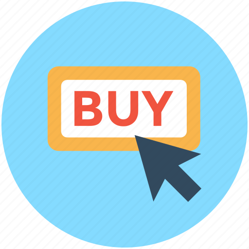 buy button, click buy, online buy, online shopping ecommerce icon
