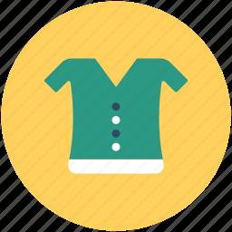 blouse, clothing, garments, shirt, woman shirt, woman top icon