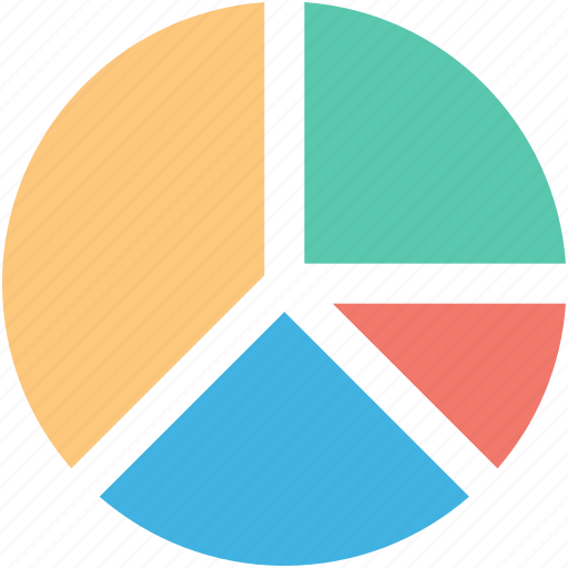 analytics, infographic, pie chart, pie graph, statistics icon