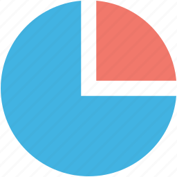analytics, infographic, pie chart, pie graph, statistics icon