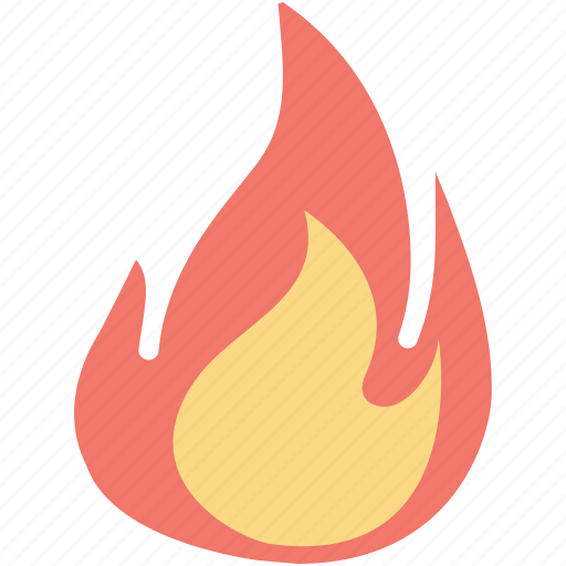 burn, fire, flame, heat, packaging symbol icon