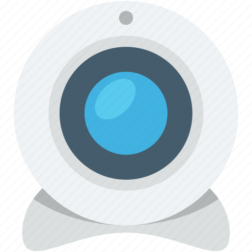 computer camera, live camera, video chat, web camera, webcam icon