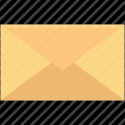 correspondence, email, envelope, letter, post letter icon