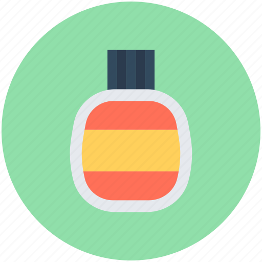 cosmetics, hair tonic, lotion, lotion bottle, oil bottle icon