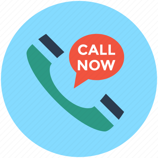 call now, call support, customer support, helpline, hotline icon
