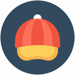 baseball cap, cap, headwear, sports cap, trucker cap icon