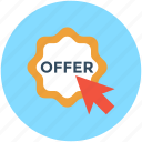offer, offer label, offer tag, price offer, shopping offer icon