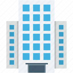 architecture, city building, flats, real estate, shopping mall icon
