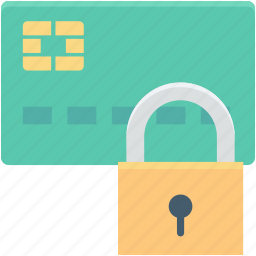 atm card, atm card security, atm pin, credit card protected, locked card icon