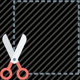 cutting out, cutting receipt, cutting tool, cutting voucher, scissor icon