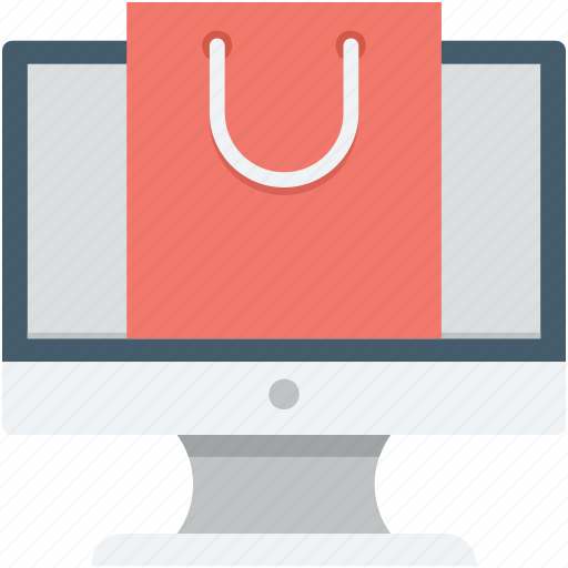 ecommerce, online shopping, online store, shopping bag, shopping store icon