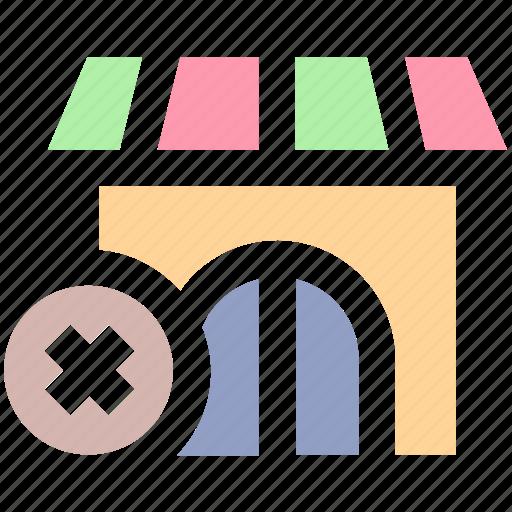 building, cross, market store, shop, shopping market, store icon