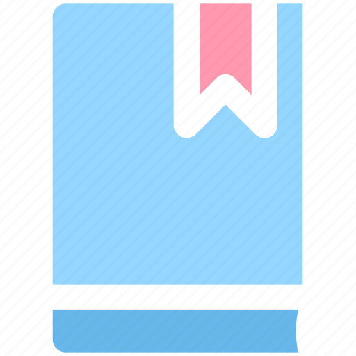 book, bookmark, label, library, reading icon