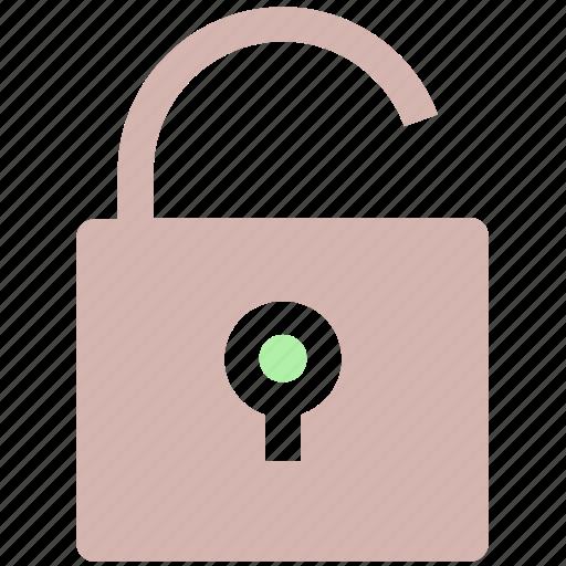 open, password, secure, security, unlock, unlocked icon