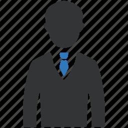 avatar, business, businessman, client, man icon